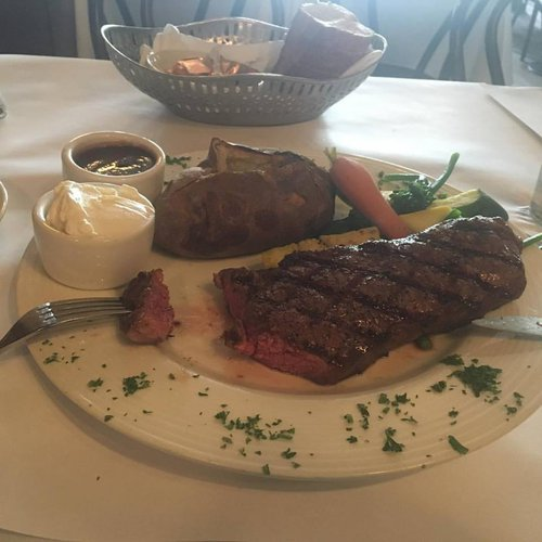 New York steak is a minimal reason to visit USA